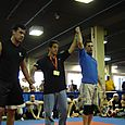 Dave gets the win over Mark Shrader at Kumite event